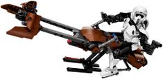 LEGO Star Wars 75532 Izvidniški vojak na dirkalnem motorju