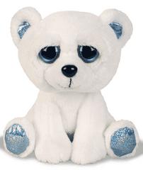 Suki plišasti svetleči polarni medvedek, 21 cm