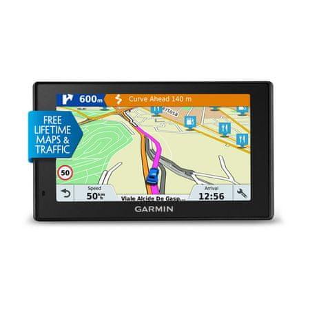Garmin navigacijski sistem DriveSmart 51 LMT-D - odprta embalaža