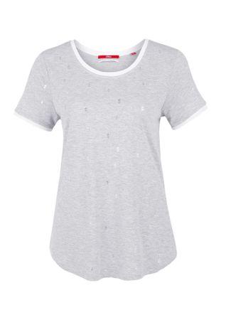 s.Oliver T-shirt damski 34 szary