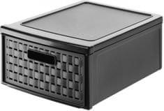 Rotho izvlačna kutija za pohranjivanje, 13 l, tamno smeđa