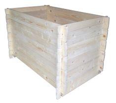 Portoss drvena visoka kutija, 120x80x80 cm