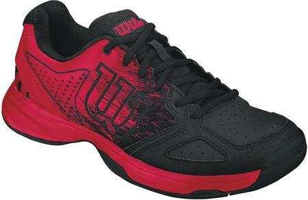 Wilson buty tenisowe Kaos Comp Jr Rad Red/Black/Rad Red 33.3