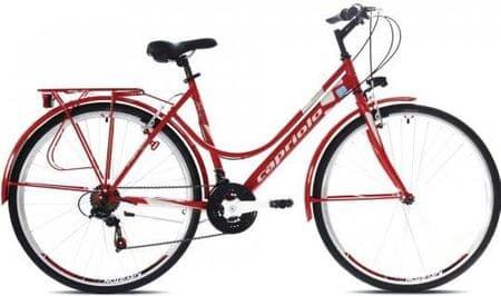 Capriolo ženski gradski bicikl Tour-Sunrise 28'', crveni
