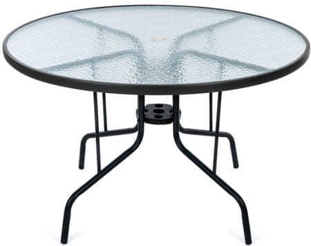 MAKERS SAVONA okrogla vrtna miza, prozorna - Odprta embalaža