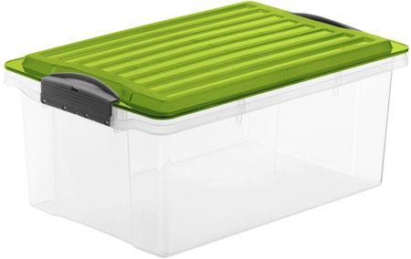 Rotho Tárolódoboz Compact 13 l, zöld