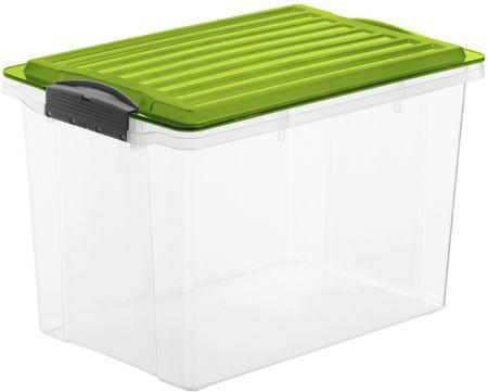 Rotho škatla za shranjevanje Compact 19 L, zelena