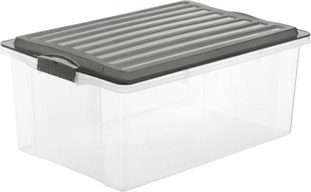 Rotho škatla za shranjevanje Compact 38 L, siva