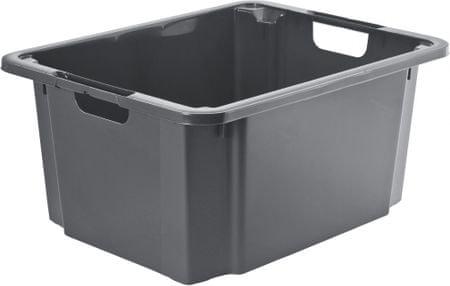 Rotho kutija za pohranjivanje Reverso 46L, siva