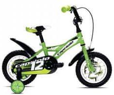 Capriolo dječji bicikl BMX Mustang 12'', zeleni