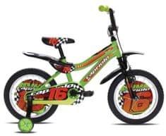Capriolo otroško kolo BMX Kid 16'', zeleno