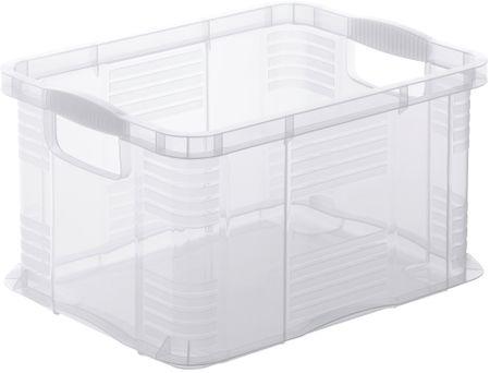 Rotho Úložný box Agilo 17,5 l, transparentní