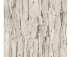 Rasch Vliesové tapety 473209 Drevený obklad bledý