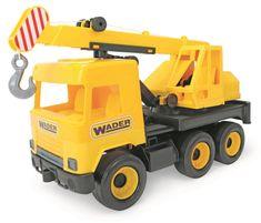 Wader Auto middle Truck žeriav žltý