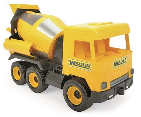 Wader Auto middle Truck betonkeverő sárga