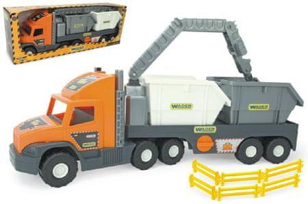 Wader Super Tech Truck Tovornjak z kontejnerji