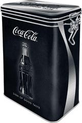 Postershop Plechová dóza s klipom Coca-Cola