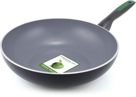 GreenPan wok, črn