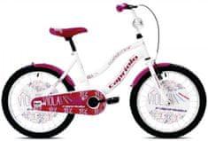 Capriolo otroško kolo BMX Viola 20'', belo-vijoličen