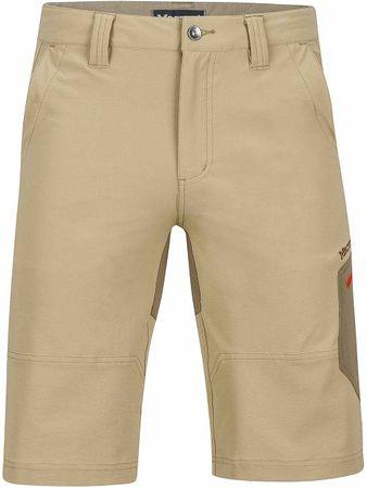 Marmot moške hlače Limantour Short, rjave, 32