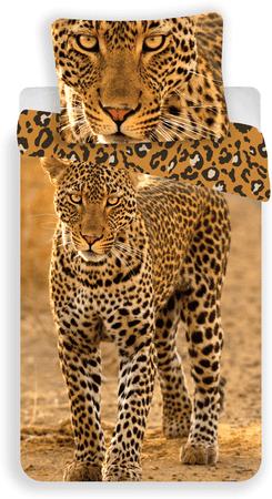 Jerry Fabrics Leopárd ágyneműhuzat 2017 140x200 70x90