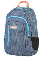 Target ruksak 2 ZIP Melange Titanium 21412