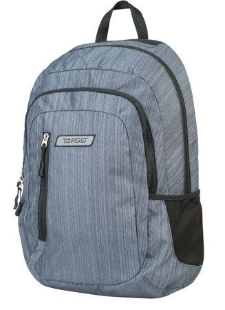 Target ruksak 2 Zip Melange Zinc 21415