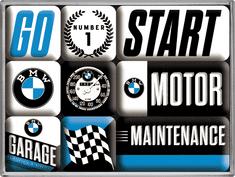 Postershop Sada magnetiek BMW 3