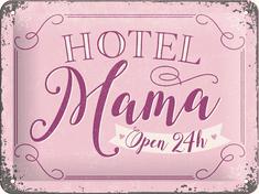 Postershop Plechová tabuľa Hotel Mama