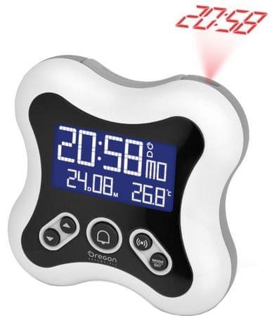 OREGON SCIENTIFIC budzik cyfrowy z projekcją czasu RM331PW