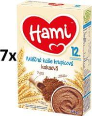 Hami Kaša mliečna krupicová s kakaom- 7x225g
