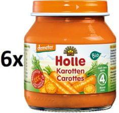 Holle Bio Mrkev - 6x125g