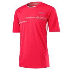 Head dječja sportska majica Club Technical, crvena