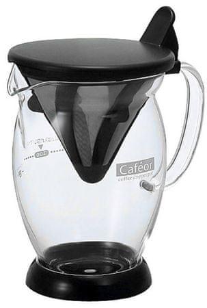Hario Cafeor Dripper, 300 ml, brez filtra