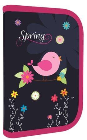 Karton P+P Kismadaras kihajtható tolltartó, Spring