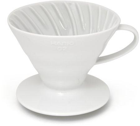 Hario Ceramiczny zaparzacz filtrowy V60-01, biały
