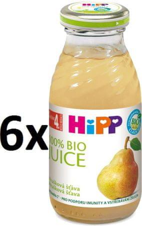 HiPP BIO Hrušková šťáva - 6x200ml