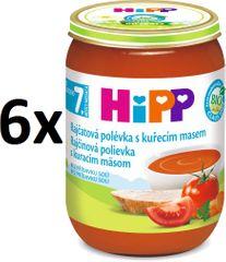 HiPP Paradajková polievka s kuracím mäsom - 6x190g