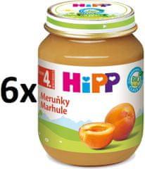 HiPP BIO Meruňky - 6 × 125g