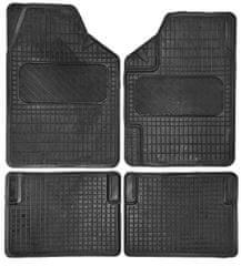4Cars Gumi autó szőnyeg UNI 3 - 4db-os készlet