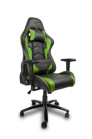 Connect IT fotel dla graczy CI-1156 czarny/zielony