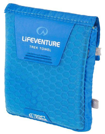 Lifeventure SoftFibre Trek Towel Advance pocket blue