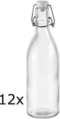 Tescoma steklenice s sponko, 12 kosov