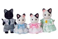 Sylvanian Families Rodzinka kotów z czarnym kocurem