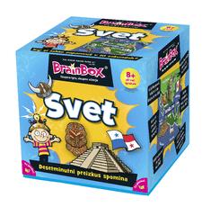 BRAINBOX družabna igra Svet 8+
