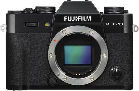 FujiFilm aparat cyfrowy X-T20 Body, czarny