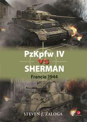 Zaloga J. Steven: PzKpfw IV vs Sherman - Francie 1944