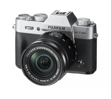 FujiFilm X-T20 + 16-50 Silver