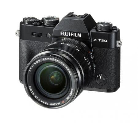 FujiFilm lustrzanka X-T20 + 18-55, czarny