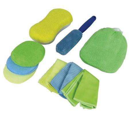 Protecton Sada pro čištění auta Microfiber, 9 ks (1750502)